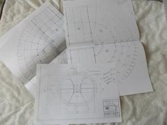 Copie De Lots De Documents Sur Le Cirque Pinder - Technical Plans
