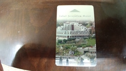 Israel-hotey Key-(494)-inbal Jerusalem-hotal-(looking Out Side)-used+1card Prepiad Free - Hotelkarten