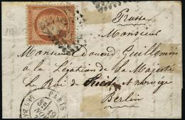 Lettre L'Archimède. LSM, CàD Du 19 Nov 70. Adressé à La Légation De Sa Majesté Le Roi De Suède Et Norvège, à Berlin. Pru - Stamps
