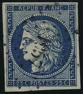 Oblitéré N° 4, 4a Et 4f, 3 Nuances Du 25c Cérès TB - Stamps