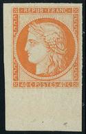 Neuf Sans Gomme N° 5, 40c Orange, Cdf, Superbe, Signé Brun - Stamps