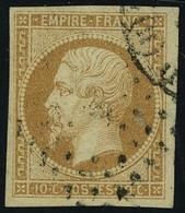 Oblitéré N° 13A, 13Ac, 13B Et 13Ba, 4 Types Ou Nuances Différents Du 10c Napoléon, ND, TB - Stamps