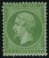 Neuf Avec Charnière N° 20, 5c Vert Bien Centré, Très Frais T.B. - Stamps