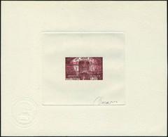 N° 1943, Le Sénat, épreuve D'artiste En Brun Carminé, Signée Decaris, T.B. - Stamps