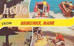 USA        228        Hello From Brunswick ( 3 Views ) - Etats-Unis