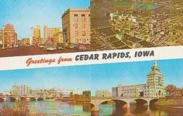 USA        274        Greetings From Cedar Rapids ( 3 Views ) - Cedar Rapids