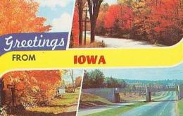 USA        276        Greetings From Iowa ( 3 Views ) - Etats-Unis