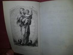 Livre Ancien 1862 VISITES AU SAINT SACREMENT  Image Religieuse Pieuse MARIE IMMACULEE Par St Liguori AM TOURS 37 - Religion