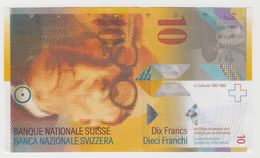 SUISSE 10 Francs 2013 P67e VF++ - Switzerland