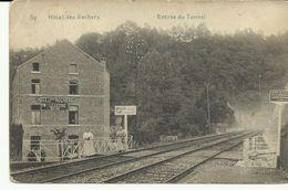 Sy Hotel Des Rochers  Entrée Du Tunnel   (6805) - Ferrieres