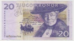 SUEDE 20 Kronor 2008 P63c VF - Sweden