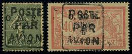 Neuf Avec Charnière N° 1/2, La Paire Surchargée Poste Par Avion Pour La Ligne Aérienne Adana-Alep Qui A Fonctionné Seule - Stamps