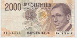 ITALIE 2000 Lires 1990 P115 VG+ - [ 2] 1946-… : Républic