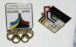 DISTINTIVI - OLYMPIC GAMES / Giochi Olimpici - Lot Of 4 Different PIN'S - Giochi Olimpici