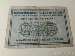 50 Pen 1919 - Estland