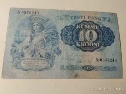 10 Kumme 1937 - Estonia