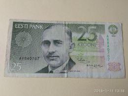 25 Kroon 1992 - Estonia