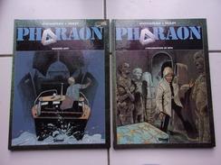 Lot 2 Bd PHARAON (Duchateau / Hulet) Dossiers Anti + L'incarnation De Seth (Glénat 1999) - Pharaon