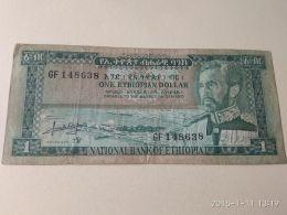 1 Dollar 1961 - Ethiopie