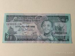 1 Birr 1976 - Etiopia