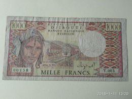 1000 Francs 1995 - Djibouti