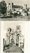 Lot De 2 Cpsm Format 10-15 La Chaise Dieu Alt.1080 M   L'Abbaye (XIVeme Siècle) Station Climatique Et Touristique - La Chaise Dieu