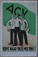 België ACV Ronde Van Vlaanderen 1937 - 1938, Naar Een Poster Uit Het Volk - Syndicats