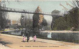 ¤¤   -   PARIS   -  Buttes Chaumont   -  Les Rochers     -  ¤¤ - Distretto: 19