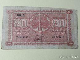 20 Markkaa 1939 - Finlandia