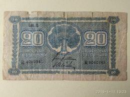 20 Markkaa 1945 - Finlandia