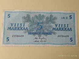 5 Markkaa 1963 - Finlandia