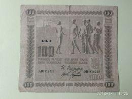 100  Markkaa 1922 - Finlandia