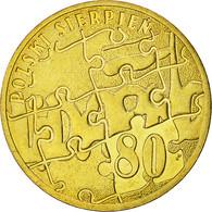 Monnaie, Pologne, 2 Zlote, 2010, Warsaw, SUP+, Laiton, KM:737 - Pologne