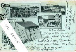 67 Bas-Rhin, Rangen-Mittelkurz, Wasselnheim, Gruss Quatre Vues, Posthilfstelle  Heitmann - Wasselonne