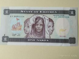 1 Nakfa 1997 - Erythrée