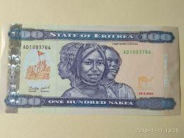 100 Nakfa 2004 - Erythrée