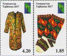 Tajikistan 2017 RCC Folk Crafts 2v MNH - Tajikistan