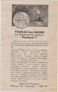 17 Fouras Publicite  Et  Plan - Publicités