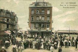 LE TREPORT - Place De La Poissonnerie Nouvelels Galeries La Foule - Le Treport