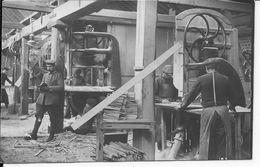 Flandres Flandern Yser Atelier De Menuiserie Soldats Allemands Pionier Bat.25 1ère Komp 1 Photo Ww1 1914-1918 - Guerre, Militaire