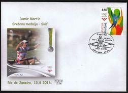 Croatia Zagreb 2016 / Olympic Games Rio De Janeiro / Rowing Single Sculls / Silver Medal Winner / Damir Martin - Sommer 2016: Rio De Janeiro
