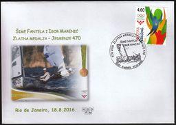Croatia Zagreb 2016 / Olympic Games Rio De Janeiro / Sailing 470 / Gold Medal Winner / Fantela - Marenic - Verano 2016: Rio De Janeiro