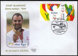 Croatia Zagreb 2016 / Olympic Games Rio De Janeiro / Shooting Trap / Gold Medal Winner / Josip Glasnovic - Sommer 2016: Rio De Janeiro