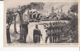 D60 - Senlis - Monsieurs Odent Maire De La Ville Fusillé Par Les Allemands ( Septembre 1914 )  : Achat Immédiat - Guerre 1914-18
