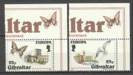 Gibraltar 1986 Mi 503-504 MNH EUROPA CEPT - 1986