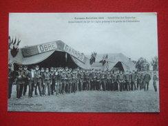 """35 - RENNES - """" RENNES AVIATION 1910 """" - AERODROME DES GAYEUILLES - DETACHEMENT DU 41e DE LIGNE...."""" OBRE GARROS """"  RARE - Rennes"""
