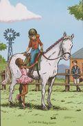 ILLUSTRATEUR Emile Bravo Pour Le Club Des Baby Sitters - Nos Passions Et Nos Rêves - Equitation - Ballerine - Contemporain (à Partir De 1950)