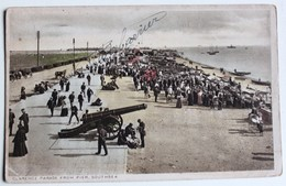 CPA Angleterre Southsea Clarence Parade 1920 Portsmouth Belle Animation - Portsmouth