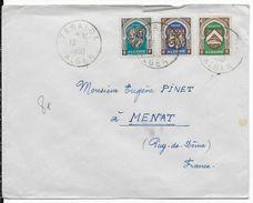 ALGERIE - 1950 - ARMOIRIES Sur LETTRE De ZERALDA => MENAT - Lettres & Documents
