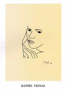 Catalogue D'exposition : Encres Noires (portraits) - Daniel Vignal - Héliopolis - Le Caire - Egypte - 1994 - Livres, BD, Revues